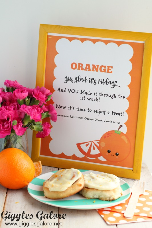 Orange You Glad Teacher Printable