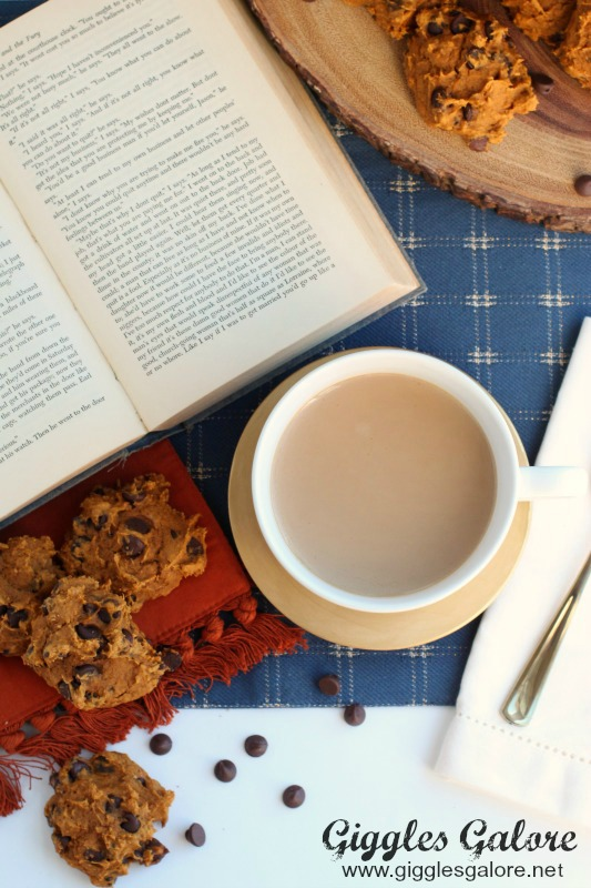 Book Pumpkin Chocolate Chip Cookies Starbucks Coffee
