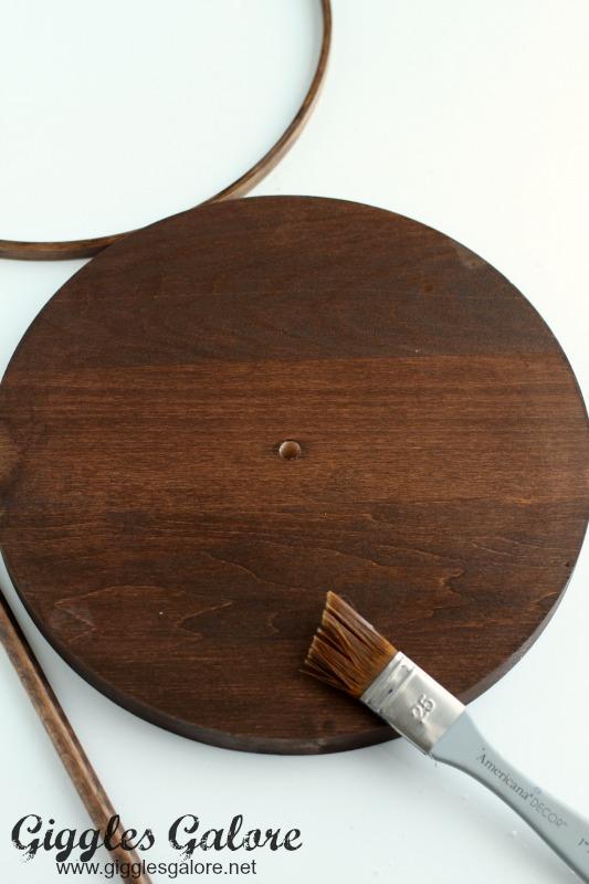 DIY Faux Globe Clock Base