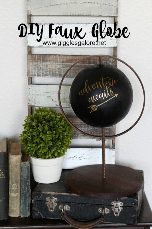 DIY Faux Globe Giggles Galore