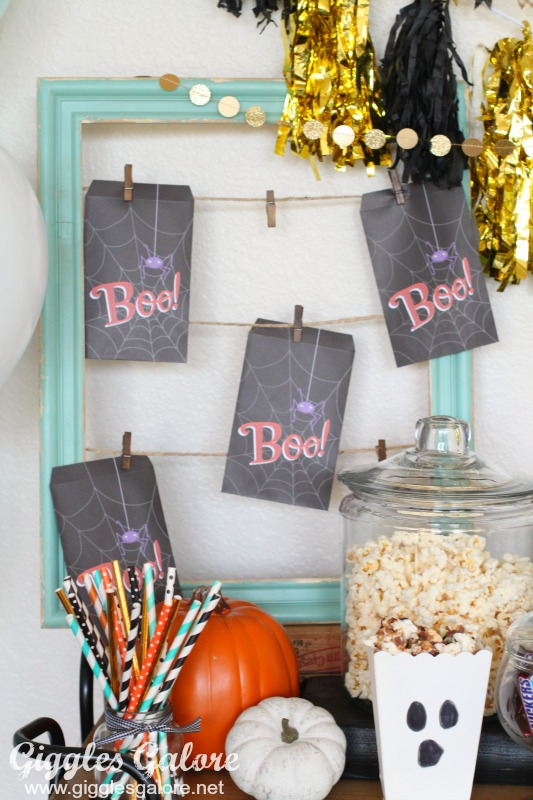 Halloween Boo Treat Bags