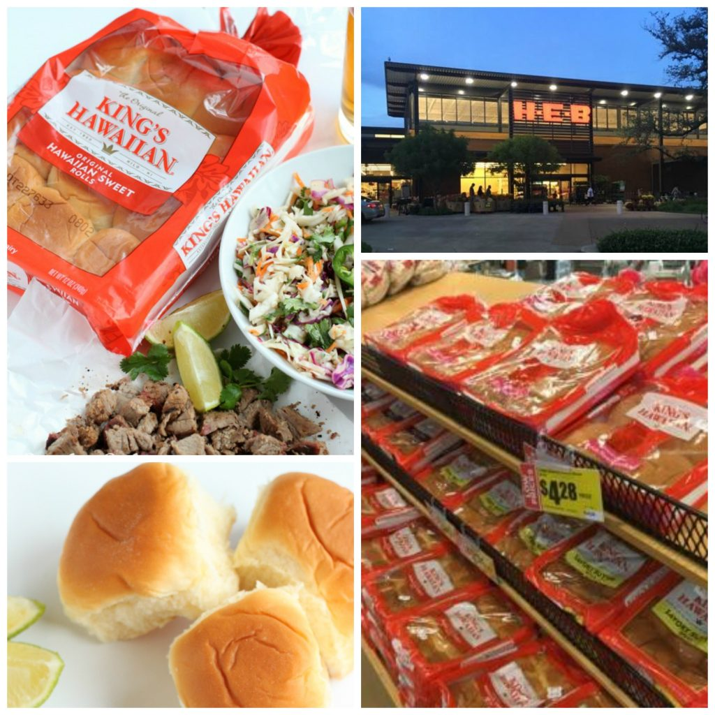 Kings Hawaiian Rolls at HEB