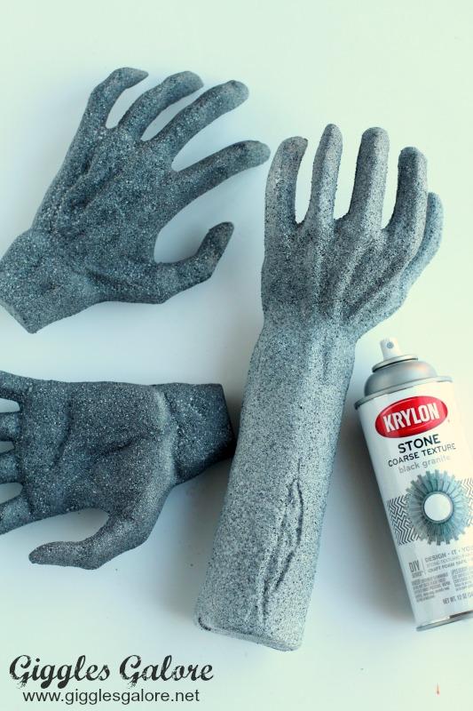 Stone Foam Hands