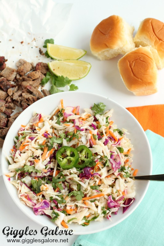 Sweet and Spicy Jalapeno Cole Slaw