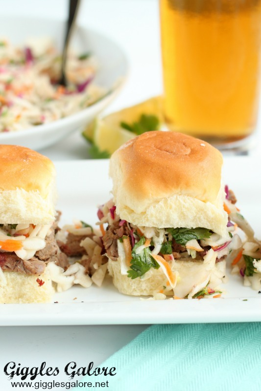 Tailgate Recipe Brisket Sliders