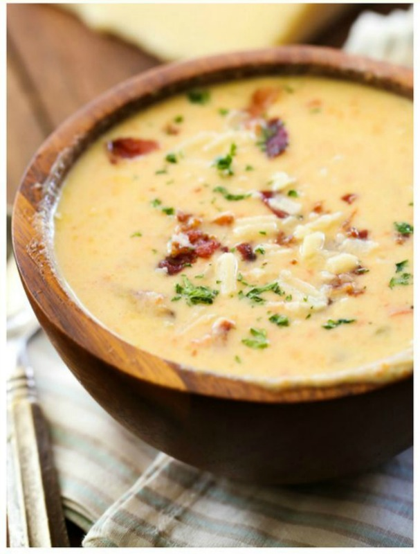 Asiago Bisque, Warm and Cozy Fall Soups