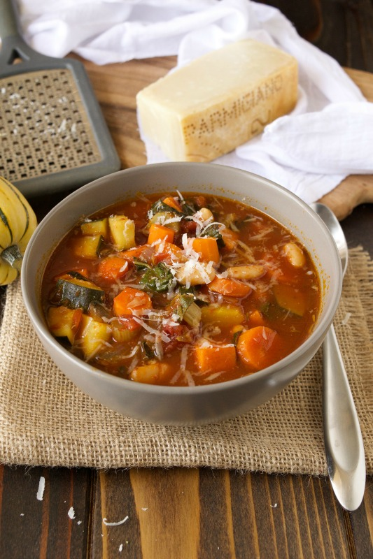 Autumn Minestrone Soup, Warm and Cozy Fall Soups