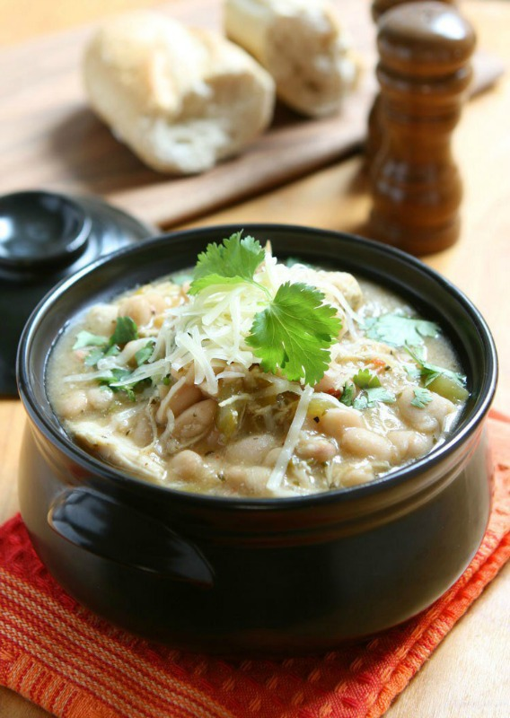 Creamy White Chicken Chili Soup, Warm and Cozy Fall Soups