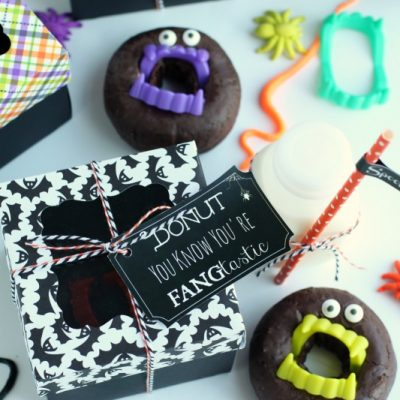 'Fang'tastic Halloween Donuts