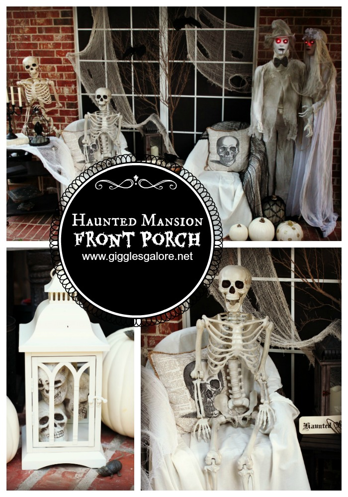 Halloween Haunted Mansion Front Porch