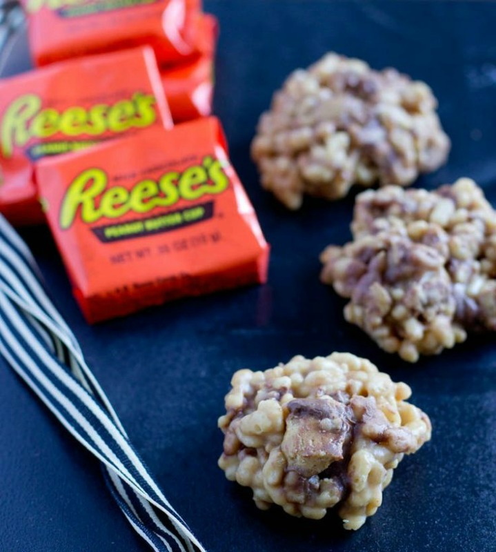 Reese's Krispies, Leftover Halloween Candy Recipes