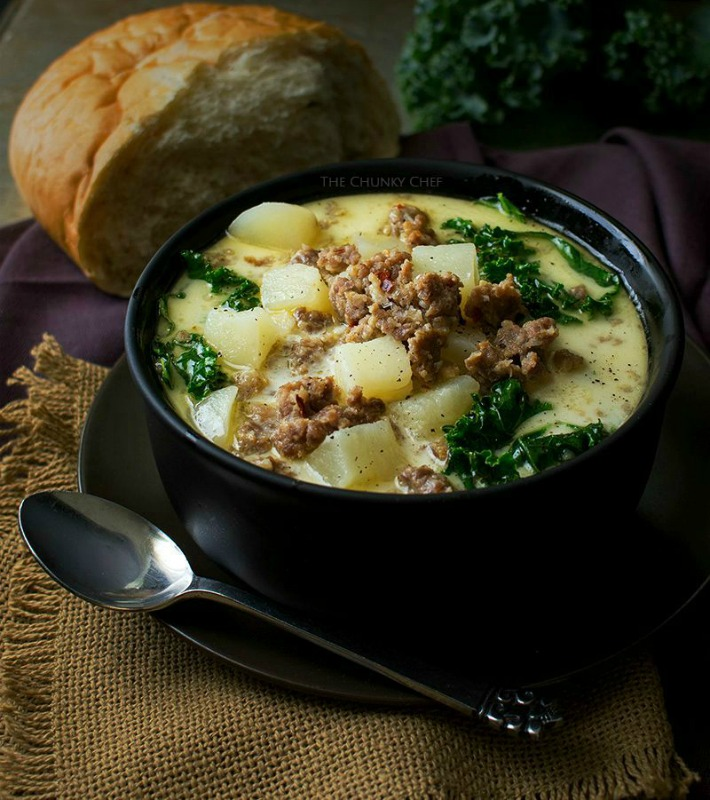 Slow Cooker Zuppa Toscana, Warm and Cozy Fall Soups