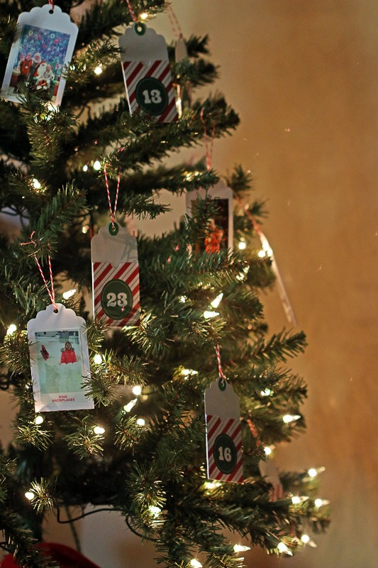 DIY Advent Calendar Tree, DIY Christmas Countdown Advent Calendar Ideas
