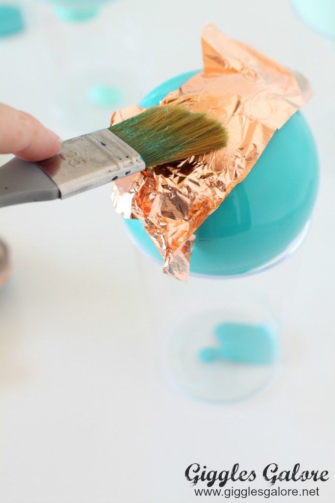 diy-painted-ornament-apply-gold-leaf