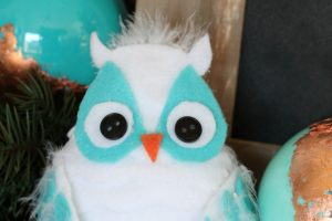DIY Winter Owl Craft