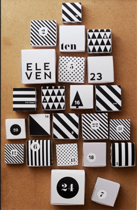 Free Printable DIY Christmas Calendar, DIY Christmas Countdown Advent Calendar Ideas