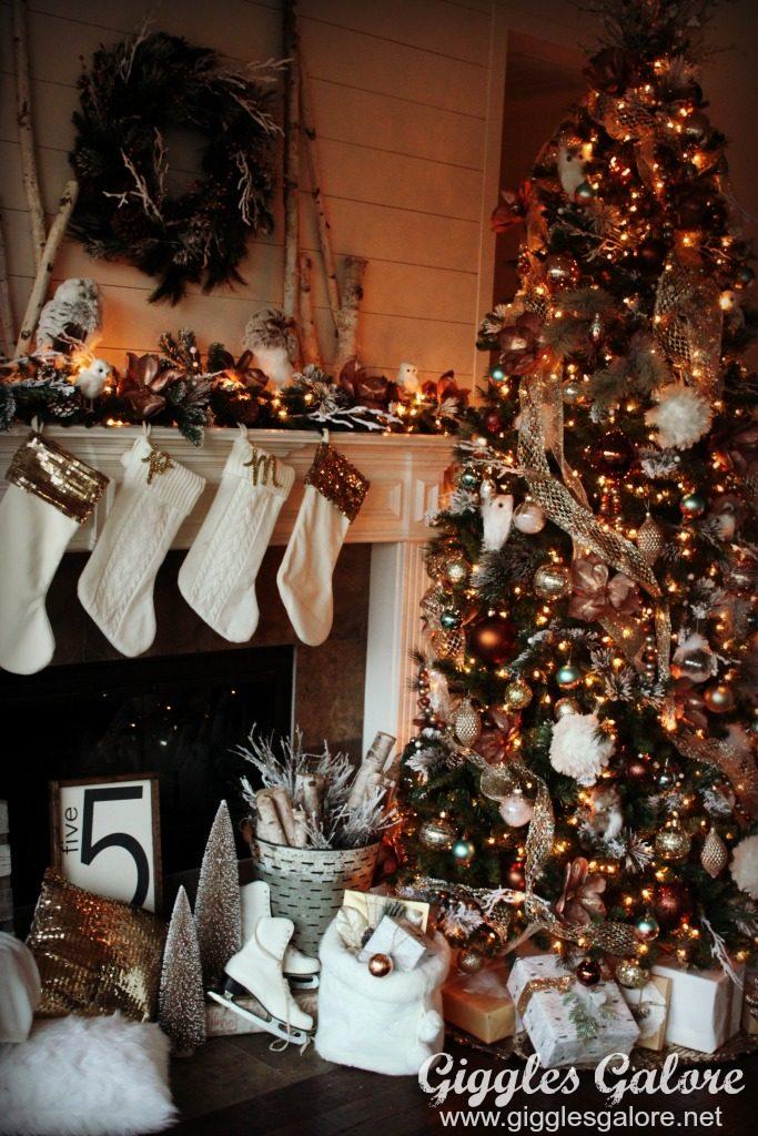 Glam Farmhouse Metallic Christmas Tree