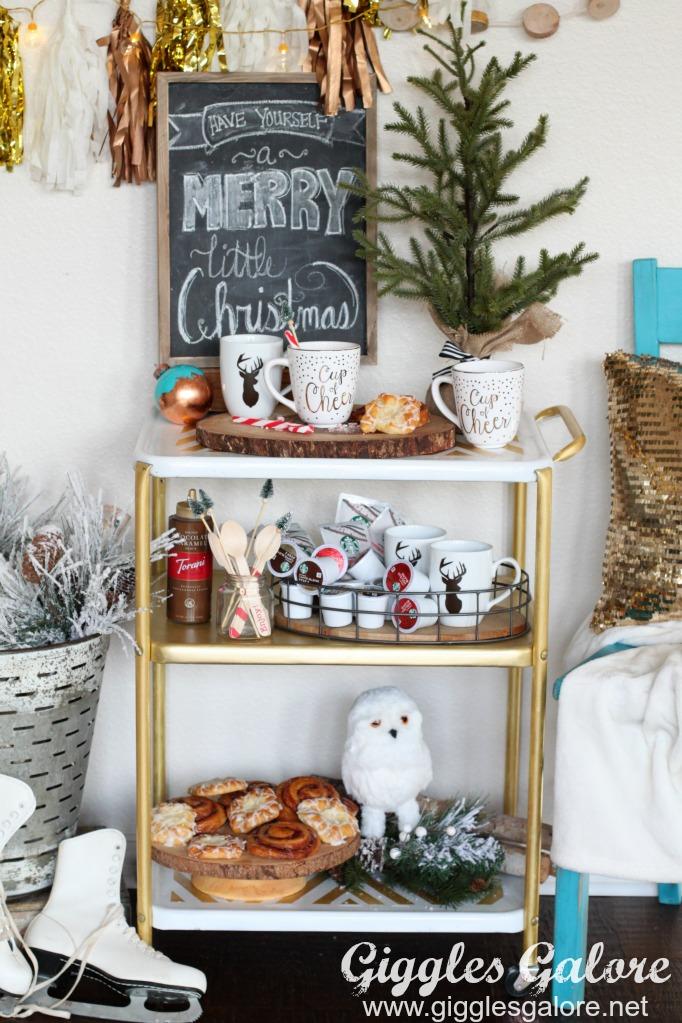 holiday-coffee-bar-cart