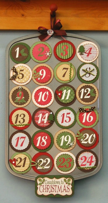 Mini Muffin Tin Countdown Advent Calendar, DIY Christmas Countdown Advent Calendar Ideas
