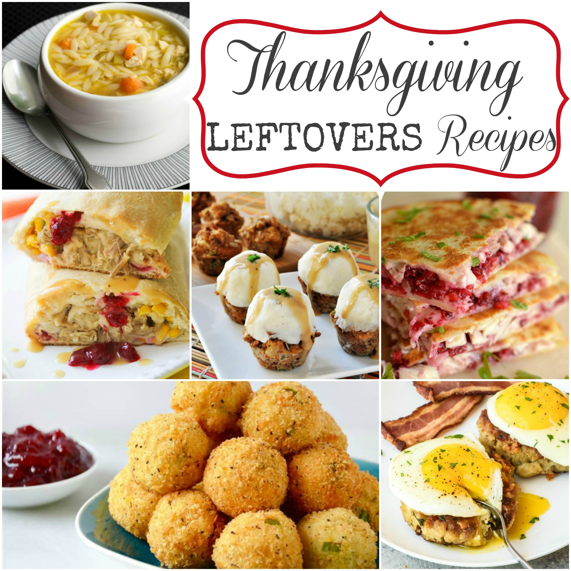 Thanksgiving Leftovers Recipes via Giggles Galore