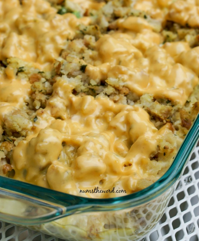 Turkey Broccoli Stuffing Casserole, Thanksgiving Leftovers Recipes via Giggles Galore