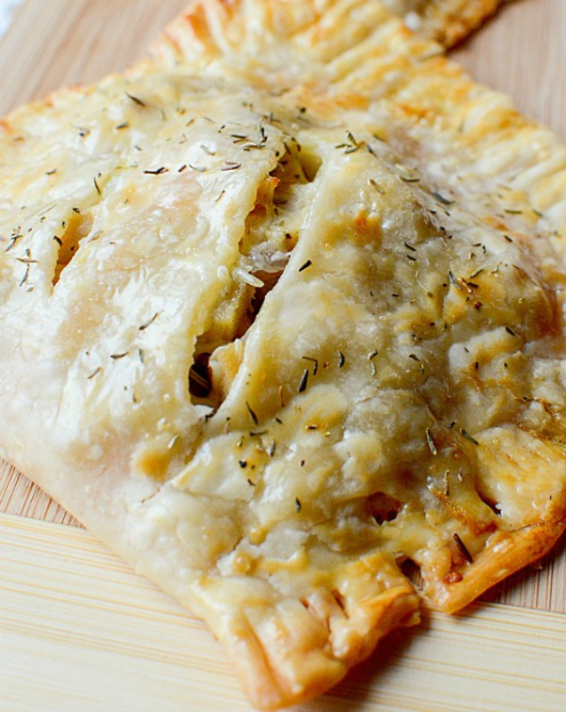 Turkey Turnovers, Thanksgiving Leftovers Recipes via Giggles Galore