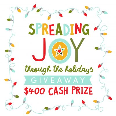 Spread the Joy Holiday Cash Giveaway