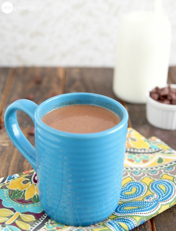 Creamy Crockpot Hot Chocolate, Christmas Morning Breakfasts via Giggles Galore