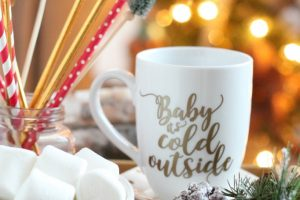 Cricut diy farmhouse mugs
