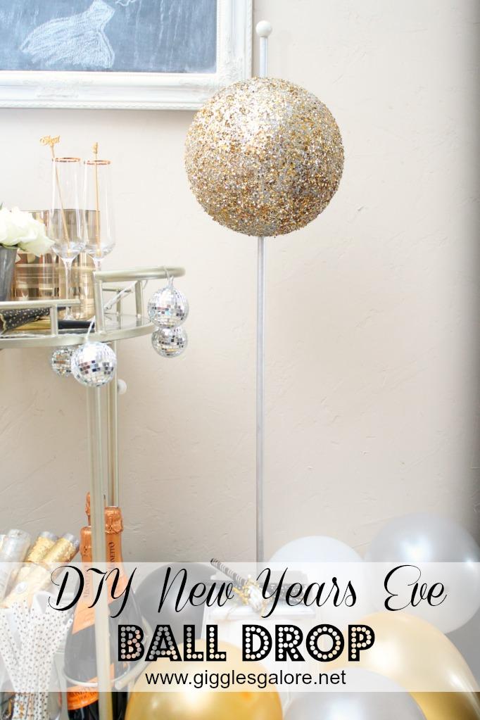 DIY NYE Ball Drop by Mariah Leeson
