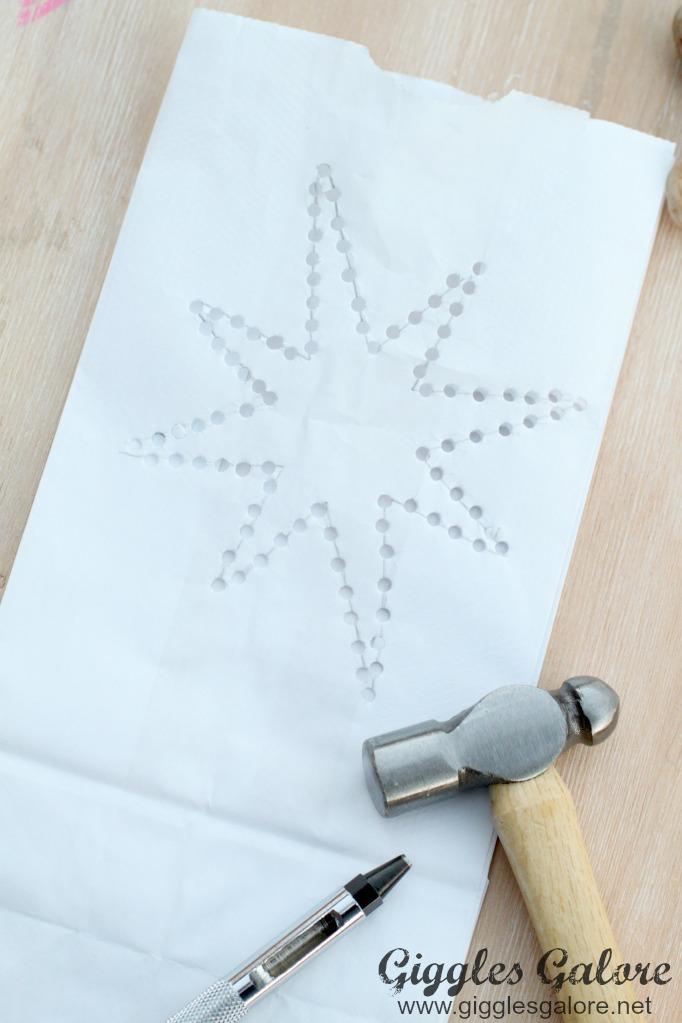 diy-paper-bag-luminary-holes-punched