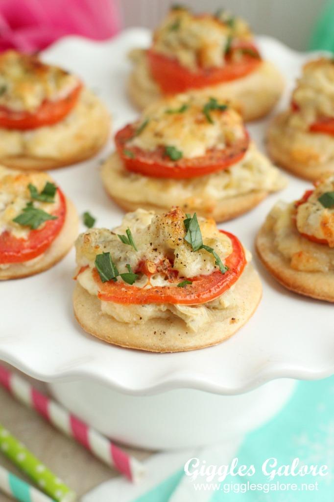 Festive and Impressive Tomato Artichoke Appetizer