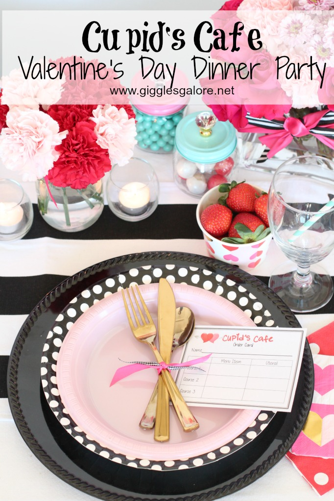 Cupid S Cafe Valentine S Day Dinner Giggles Galore