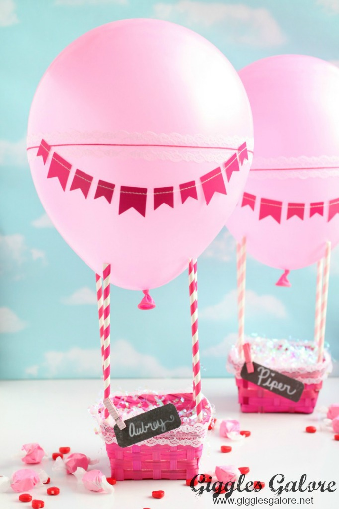 Hot Air Balloon Valentine Box Giggles Galore