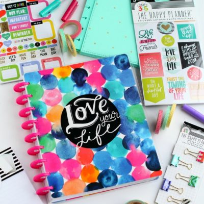 How to Stay Organized and Motivated with The Happy Planner