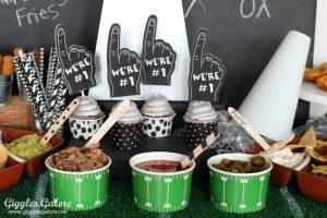 Touchdown Super Bowl Party Ideas