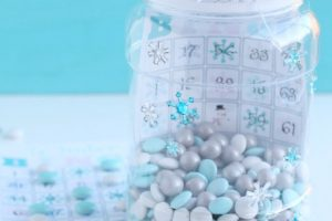 Winter Bingo Activity in a Jar