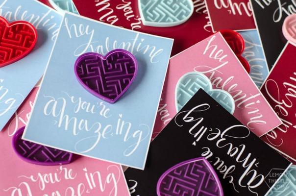 A.MAZE.ing Valentines, 30+ Kids Valentine Printables via Giggles Galore