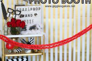 Oscar Party Photo Booth