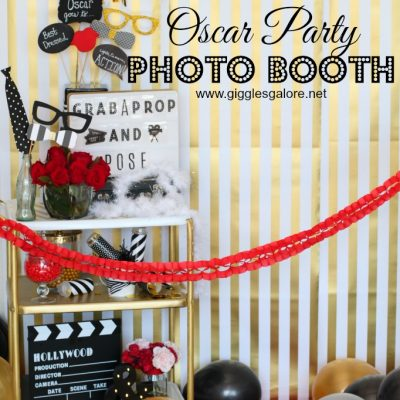Oscar Party Photo Booth