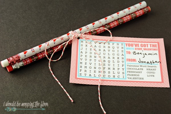 Word Search Valentines, 30+ Kids Valentine Printables via Giggles Galore