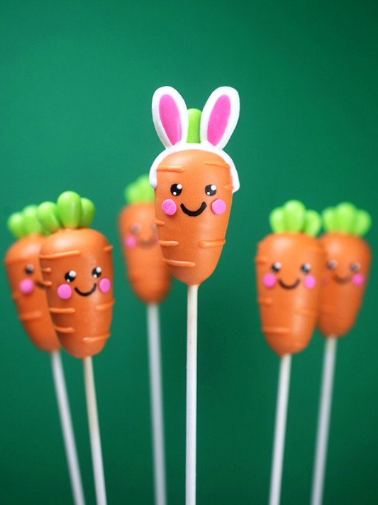 Bakerella Carrot Cake Pops, 25 Carrot Themed Recipes and Crafts for Easter
