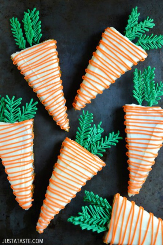 Just a Taste Pineapple Carrot Cake, 25 Carrot Themed Recipes and Crafts for Easter