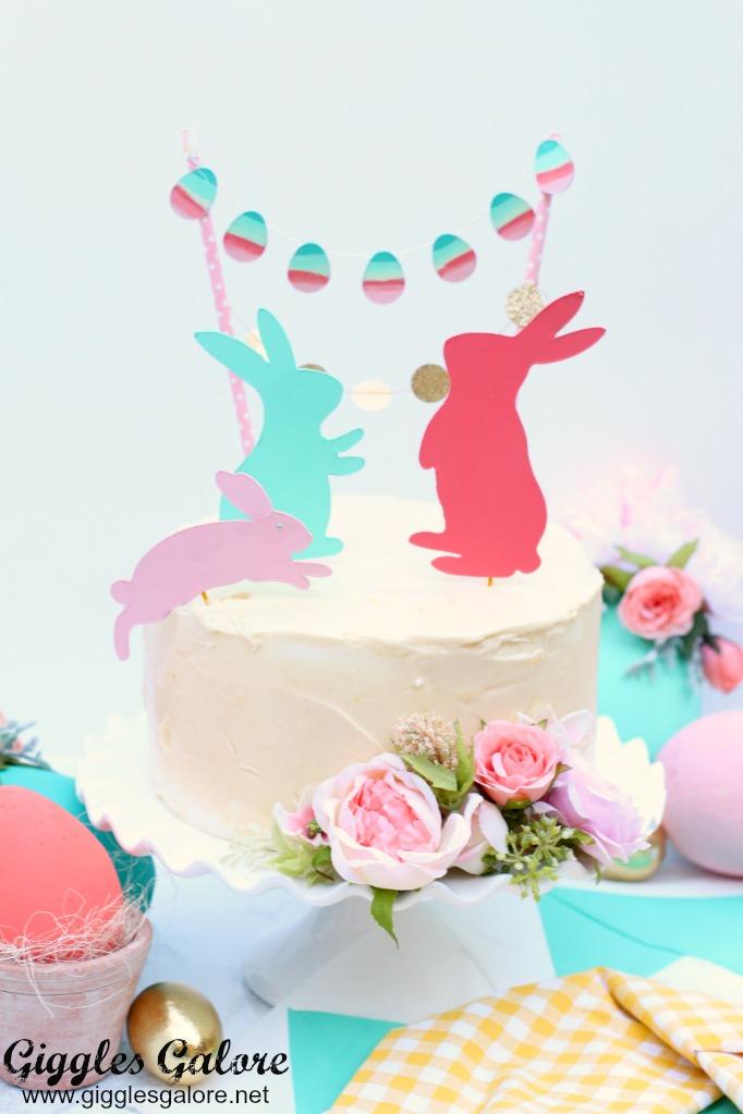 Easter Bunny Cake | Easter Bunny Themed Treat Idea by Mariah Leeson