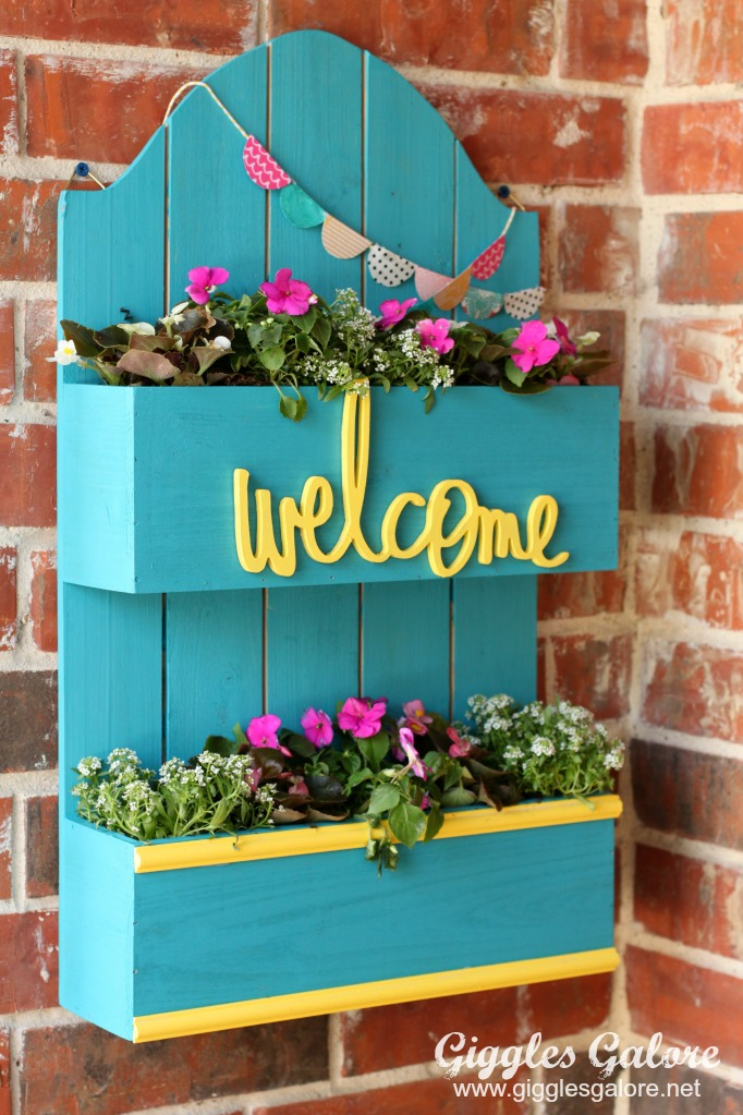 Diy Spring Planter Box Giggles Galore