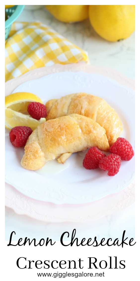 Lemon cheesecake crescent rolls pinterest