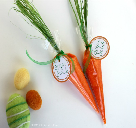 OH MY! Creative Carrot Sugar Scrub, 25 Carrot Themed Recipes and Crafts for Easter