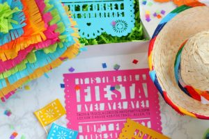 DIY Fiesta Invitation for Cinco de Mayo