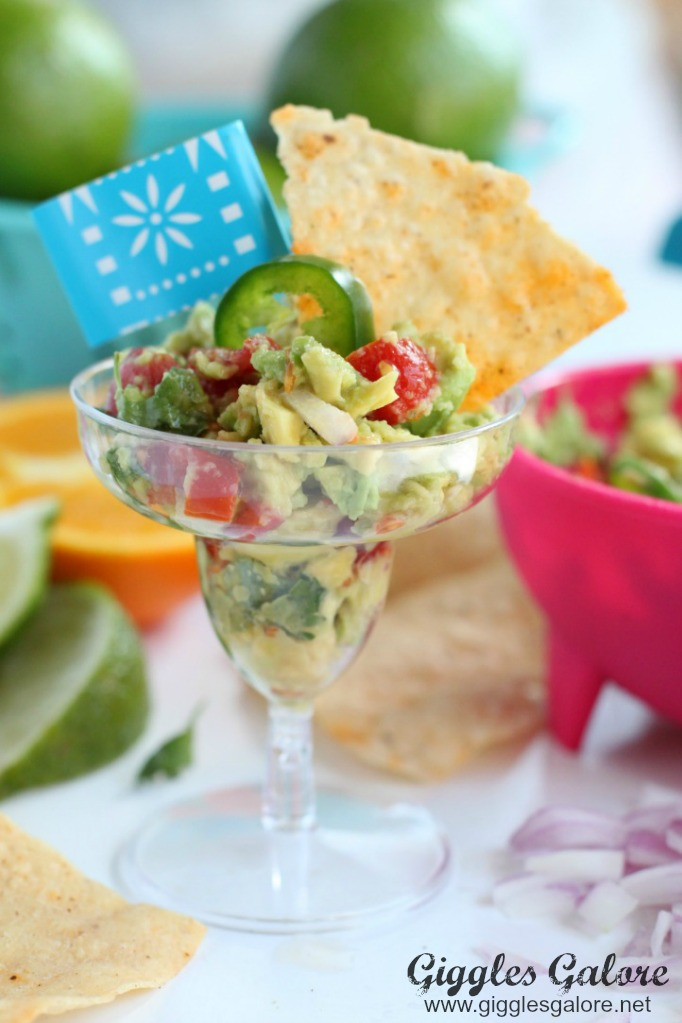 Mini guacamole appetizer gg