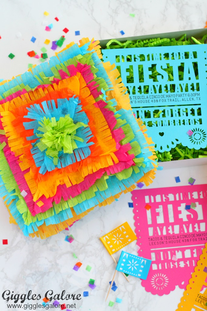 DIY Fiesta Party Invitation by Mariah Leeson